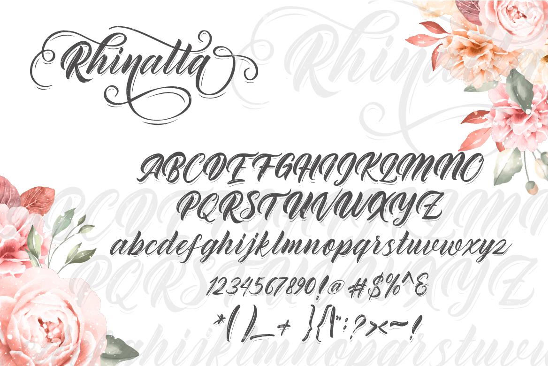 Rhinatta Script example image 4