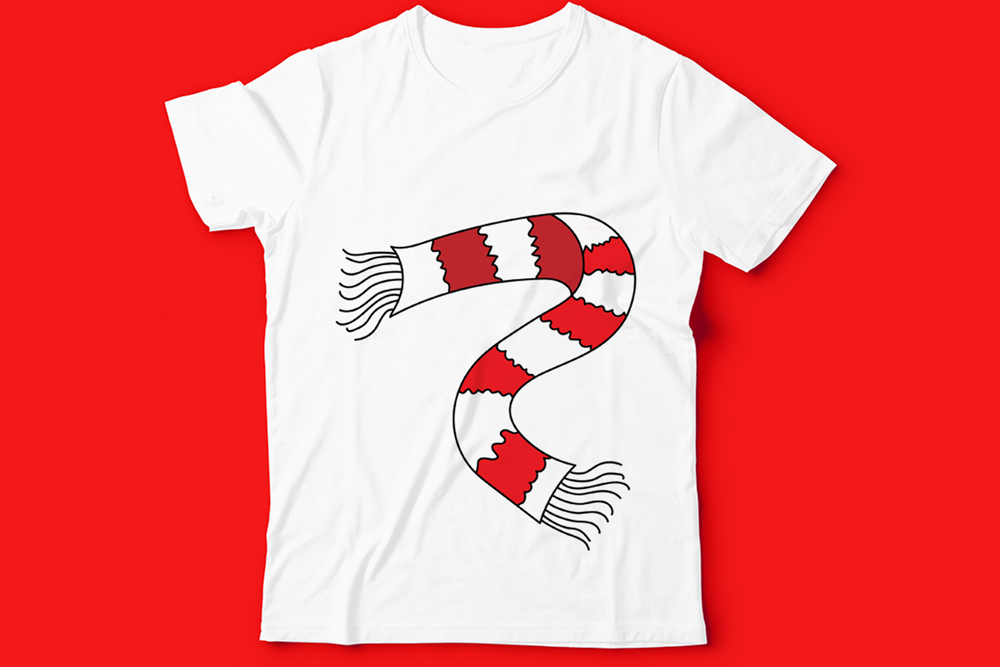 Kids T-Shirt Design Illustration example image 2