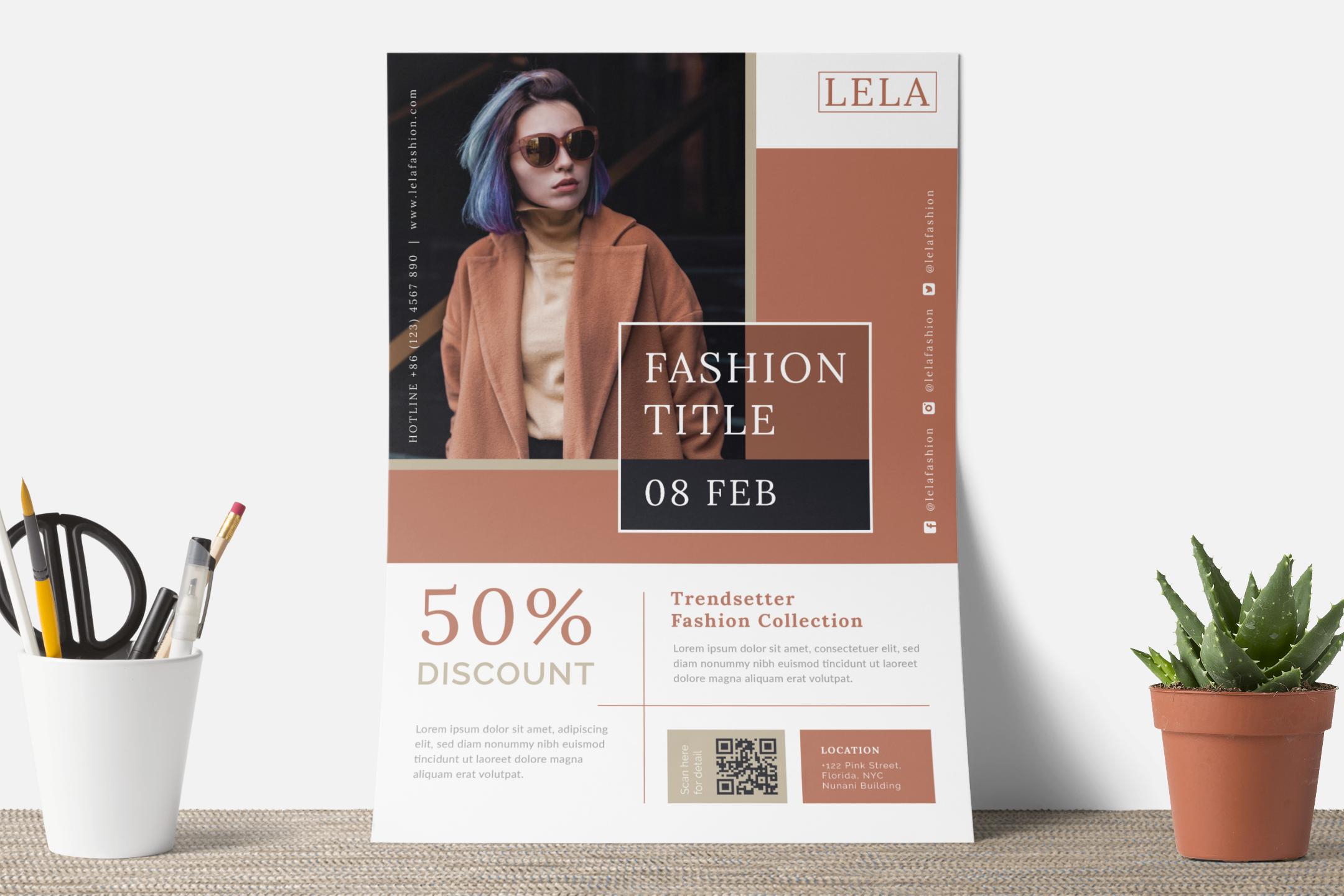 Fashion flyer example image 8