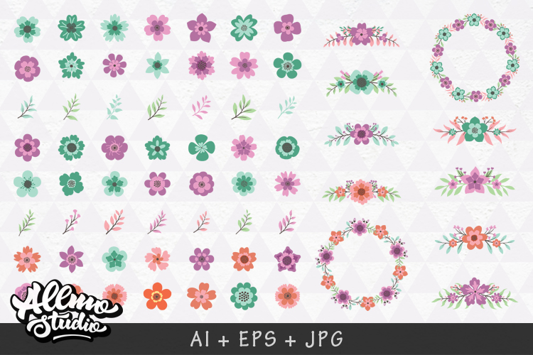 Beautiful Floral element example image 3