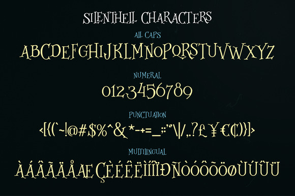 Silenthell Typeface example image 3