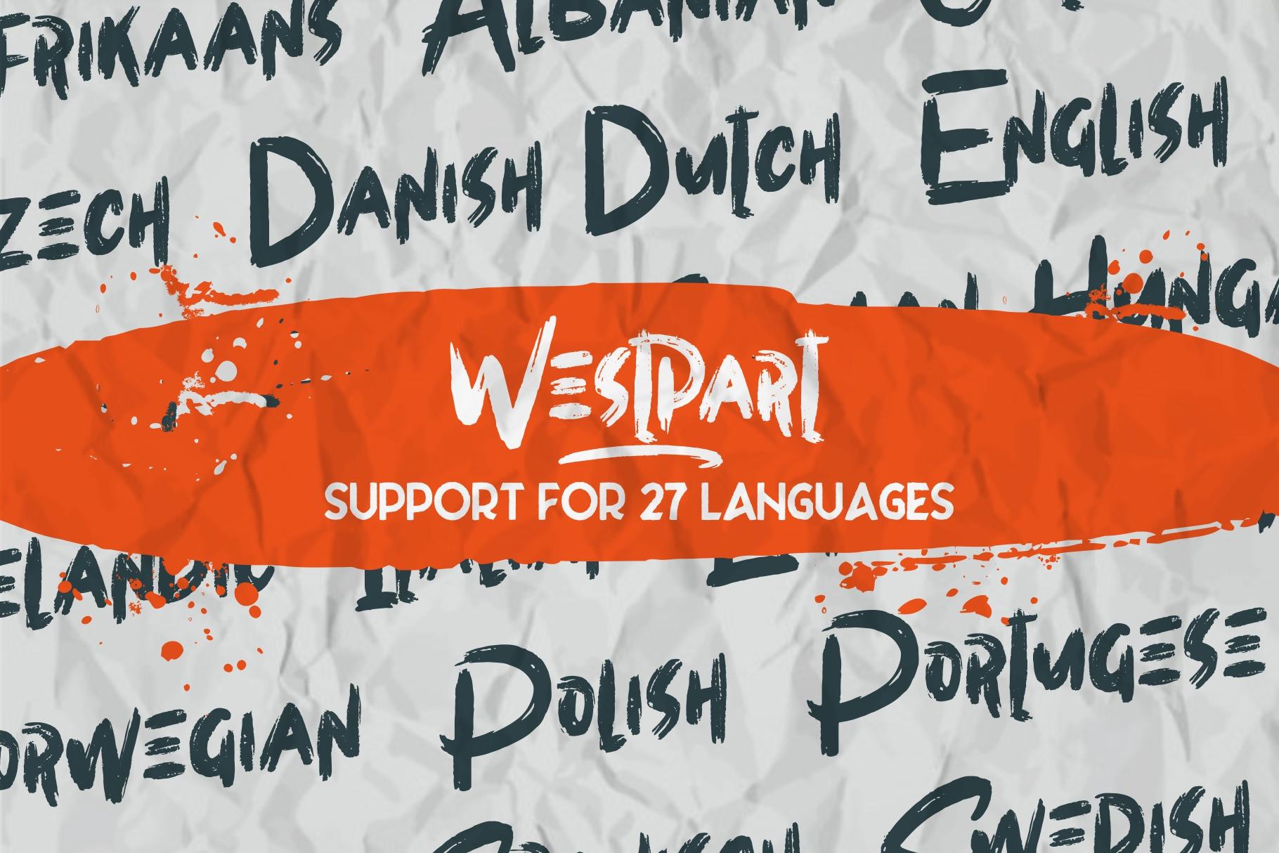 WESTPART - Brush Fonts example image 4