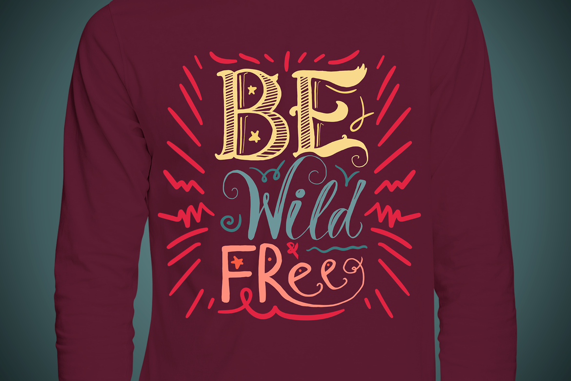 Be Wild And Free example image 2