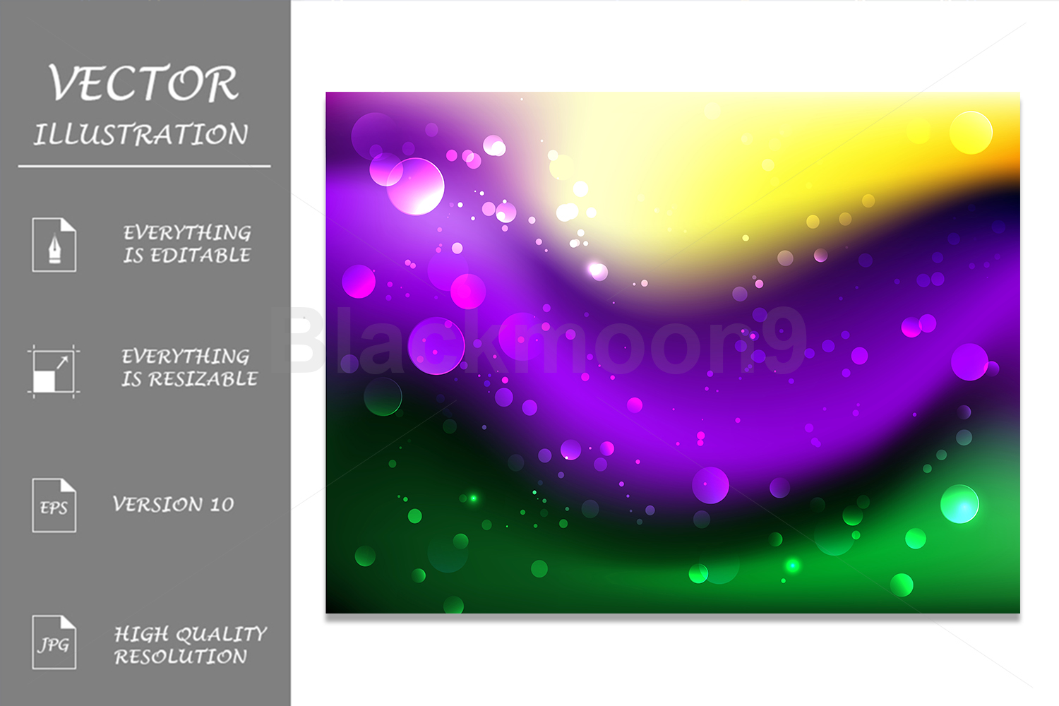 Abstract Mardi Gras Background example image 1