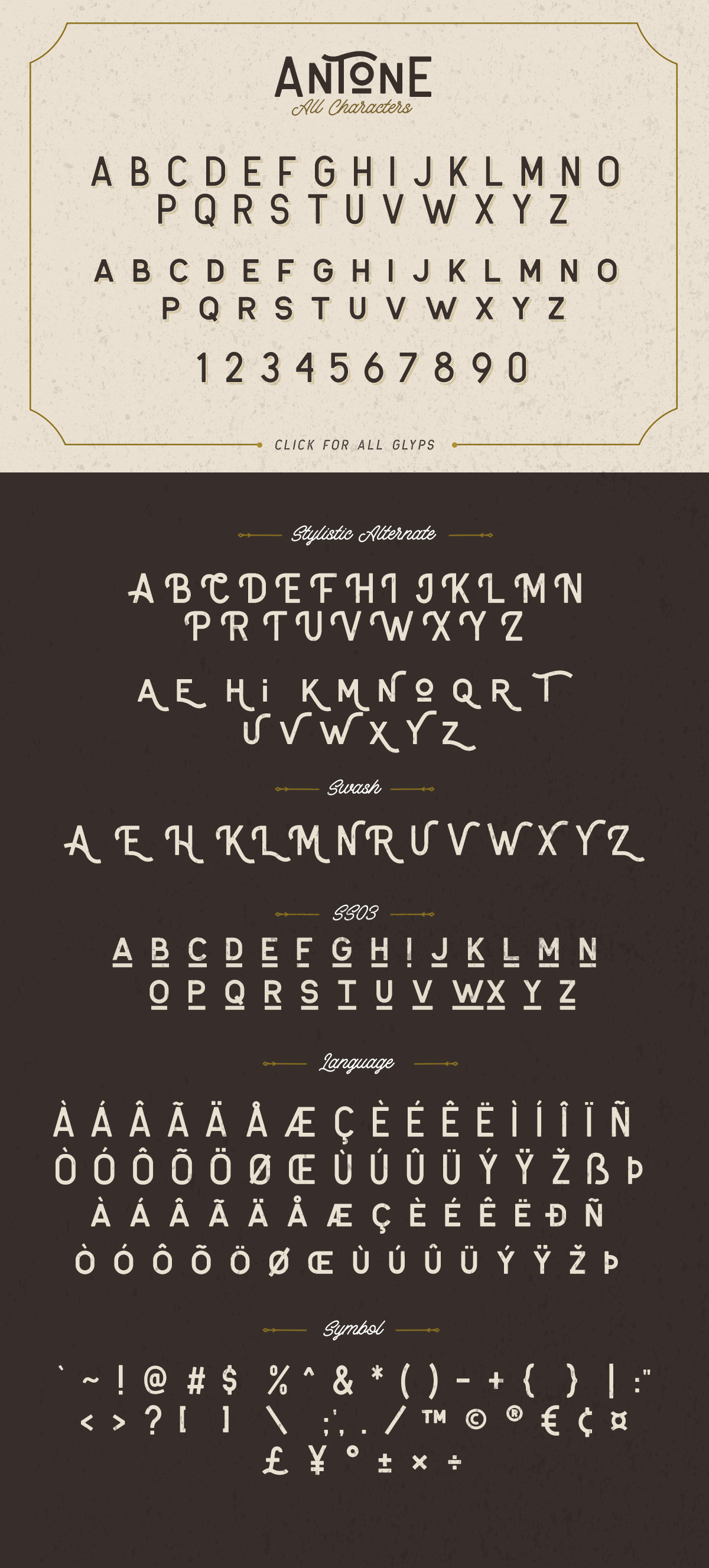 Antone Family - 7 FONTS example image 10
