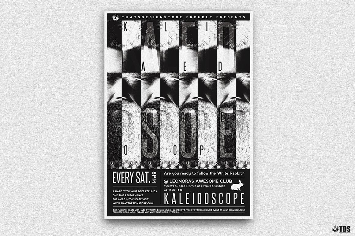 Kaleidoscope Flyer Template example image 2