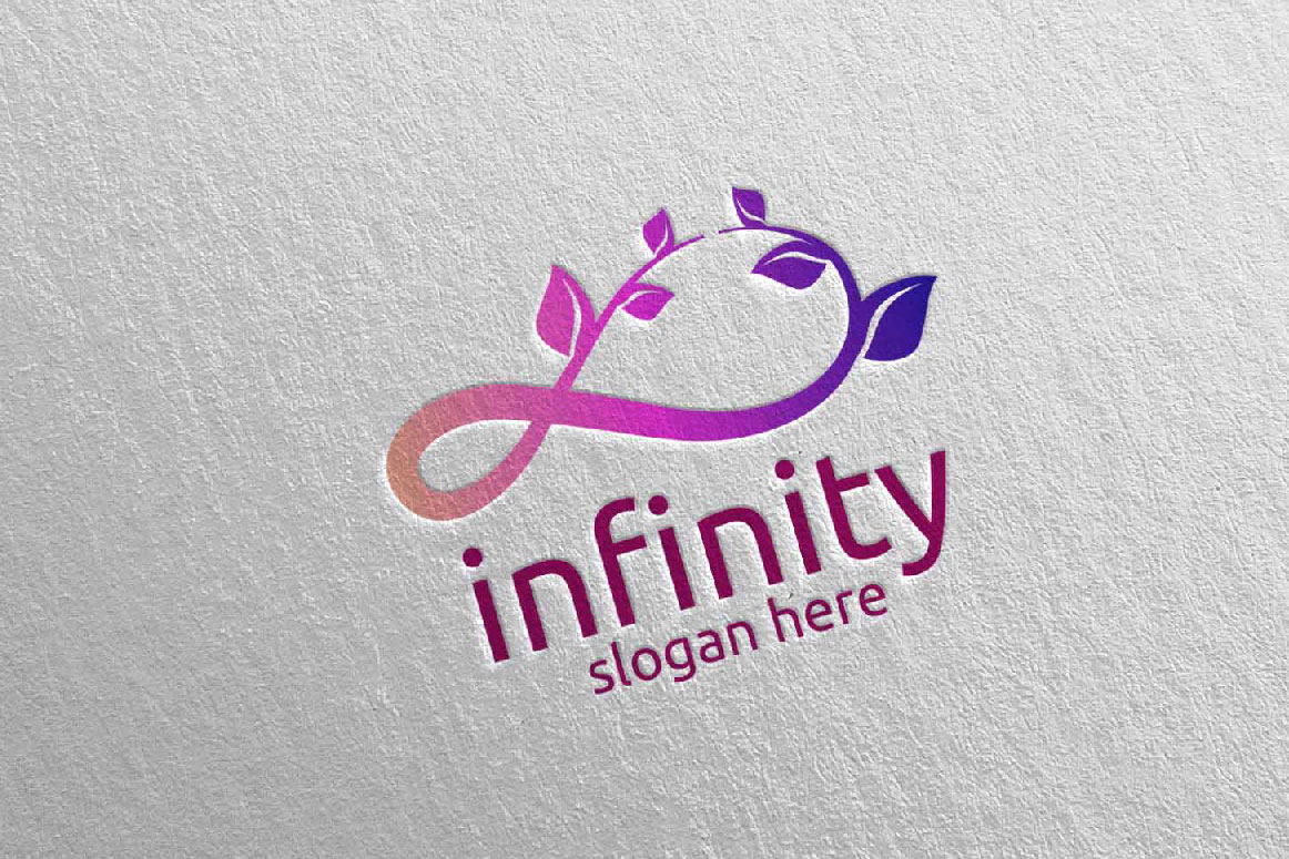 Green Infinity loop logo Design 33 example image 5