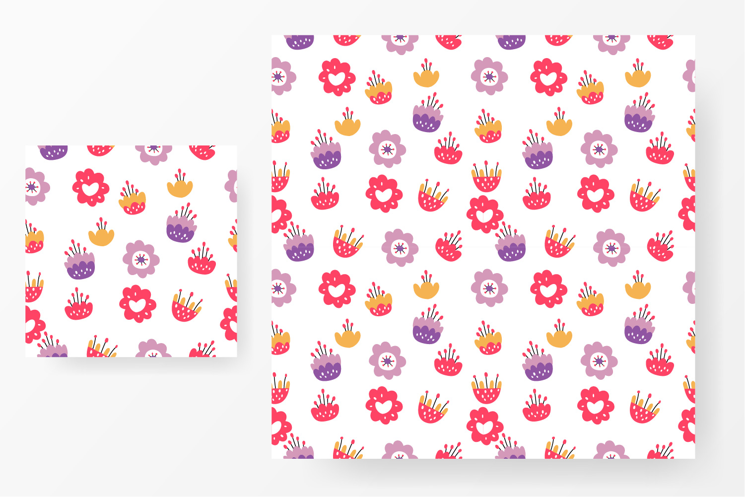 Flower design collection svg example image 6