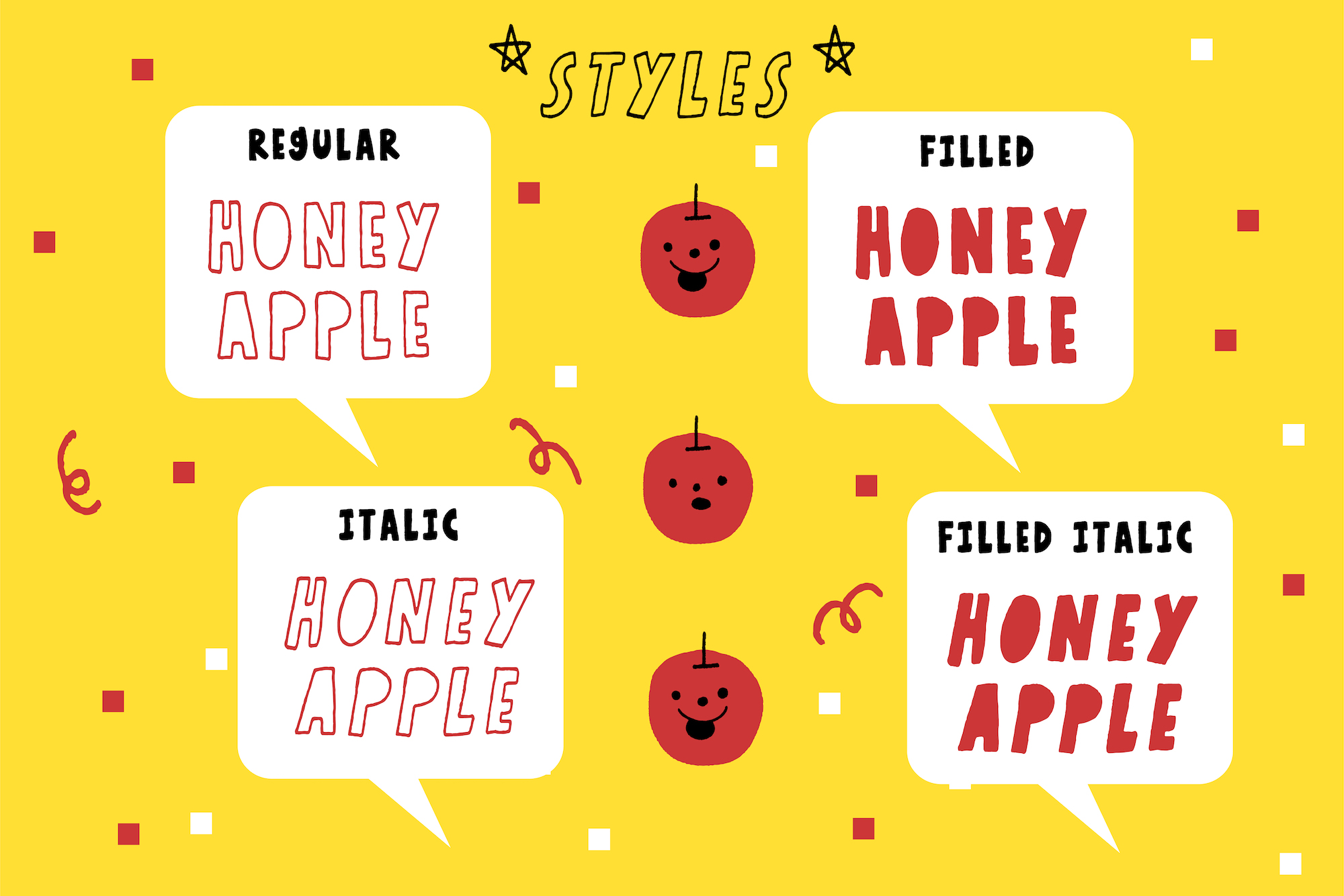 Honey Apple example image 10