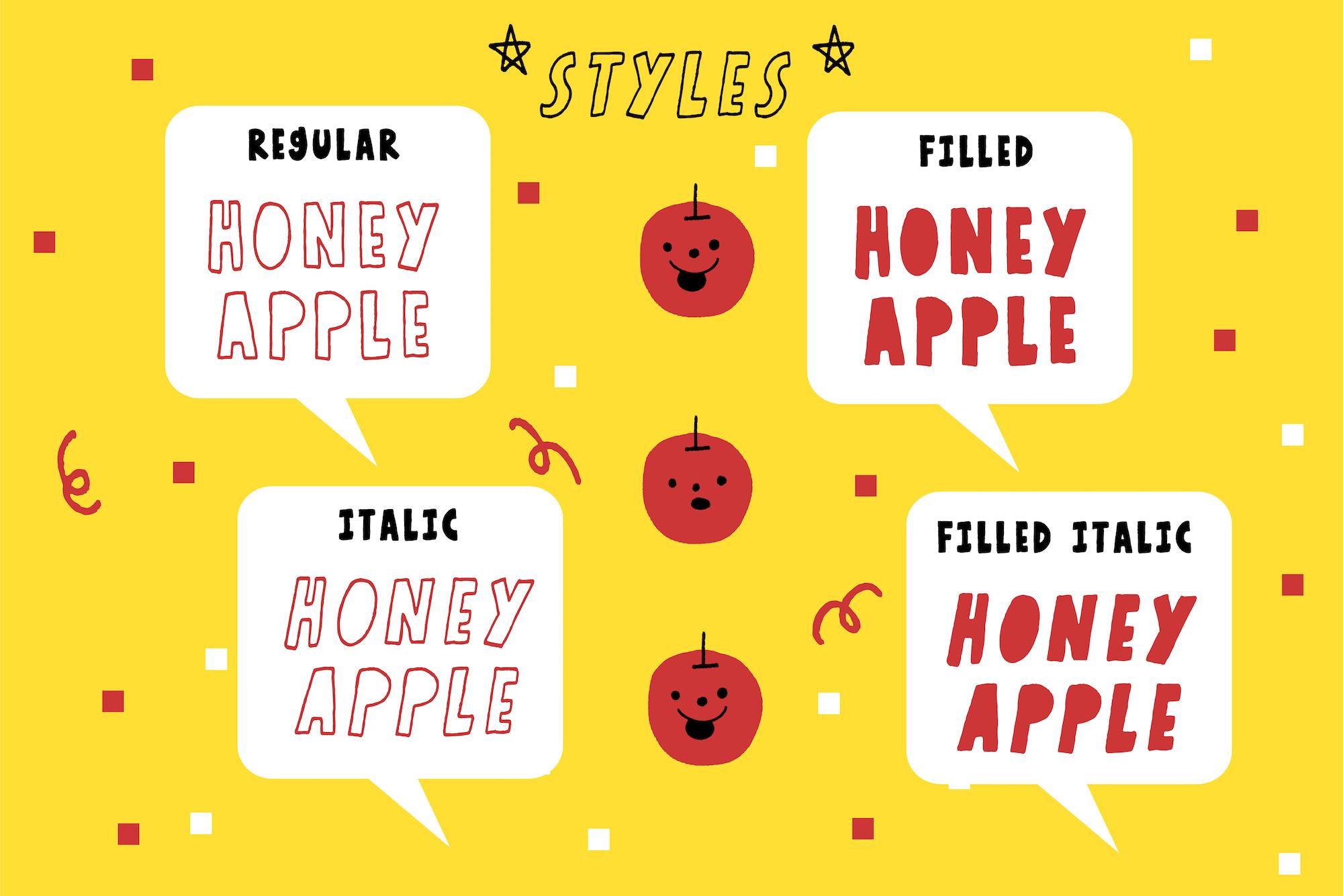 Honey Apple example image 10