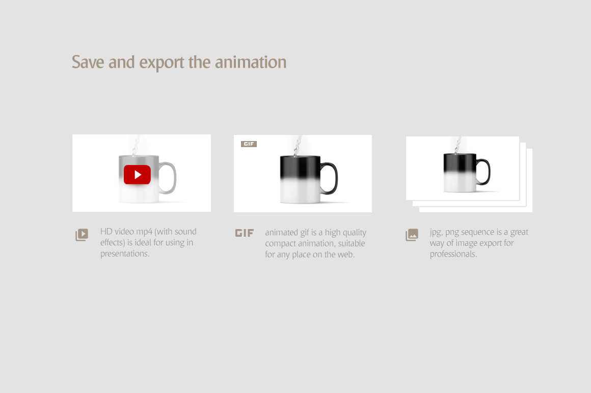 Magic Mug Animated Mock up example image 8