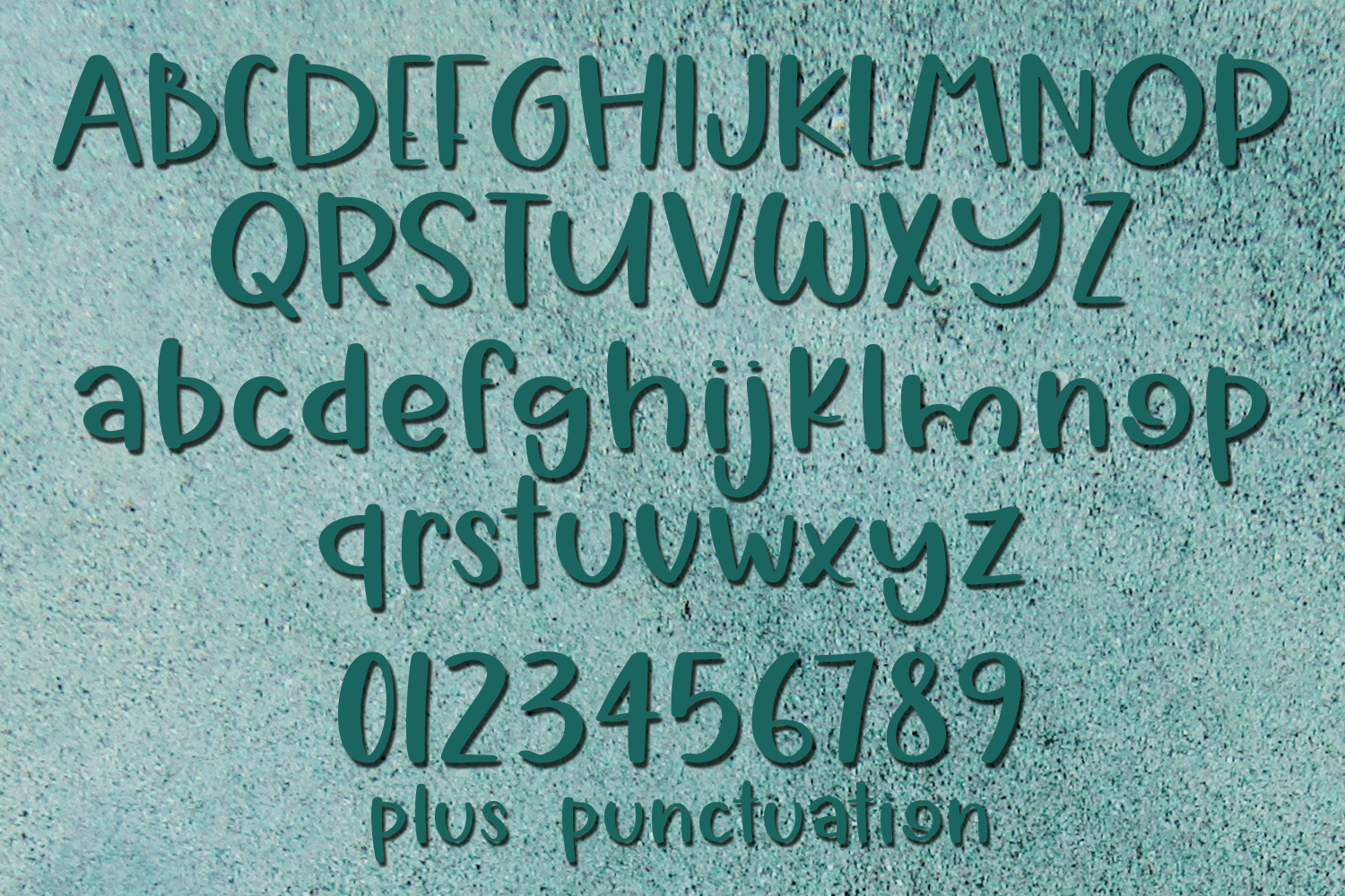 Vacation - A Summery Hand-Written Font Pair example image 2