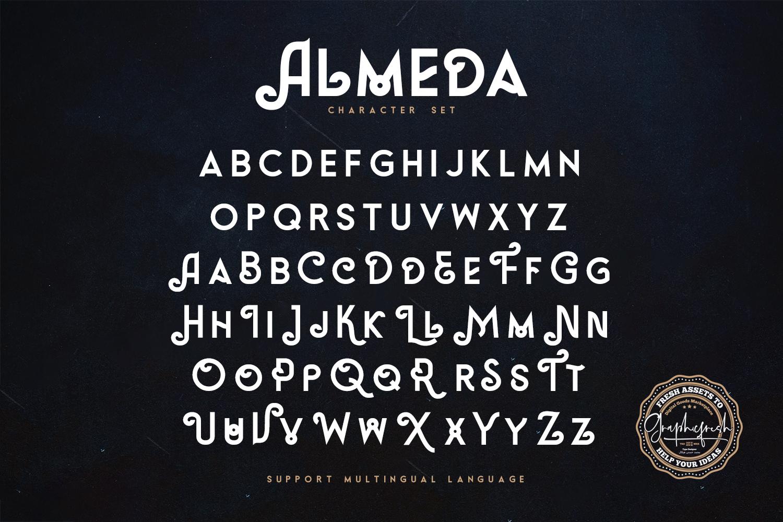 Almeda // A Modern Vintage Font example image 5
