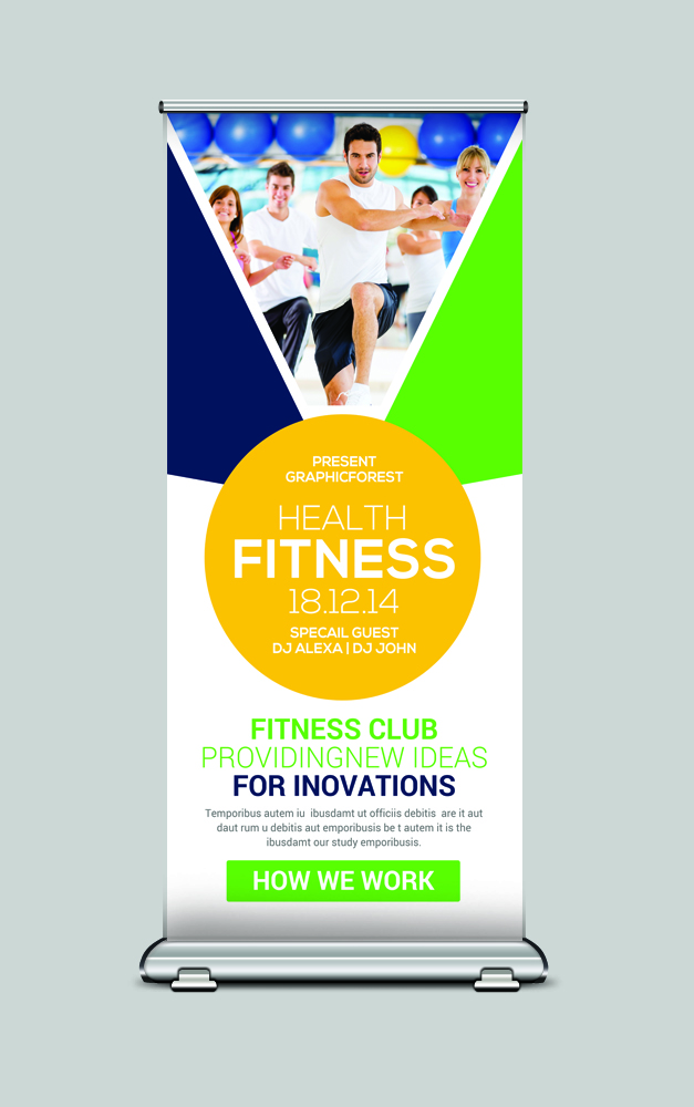 Rollup Banner Psd example image 3