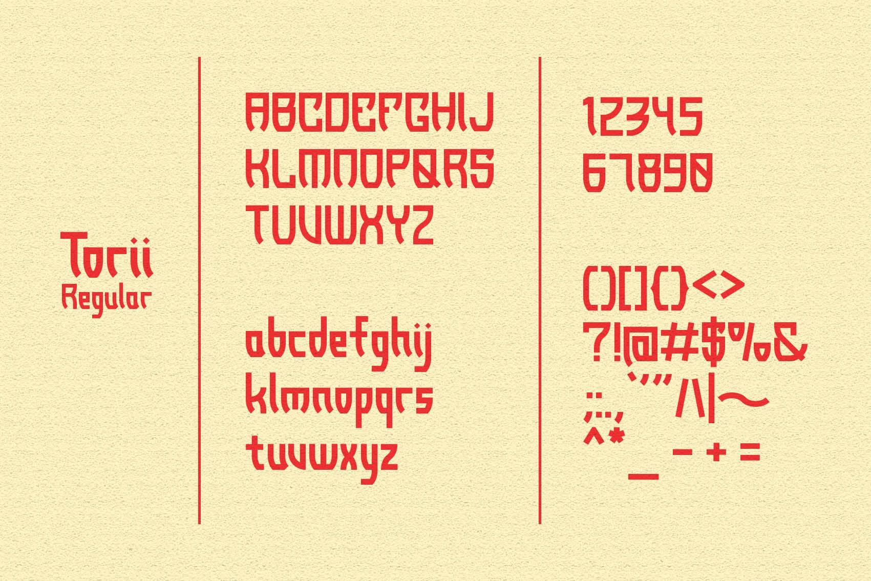 Torii - Japanese Style Typeface example image 7