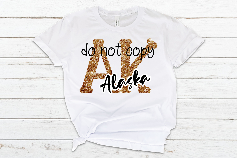 Alaska AK State Leopard Bundle example image 4