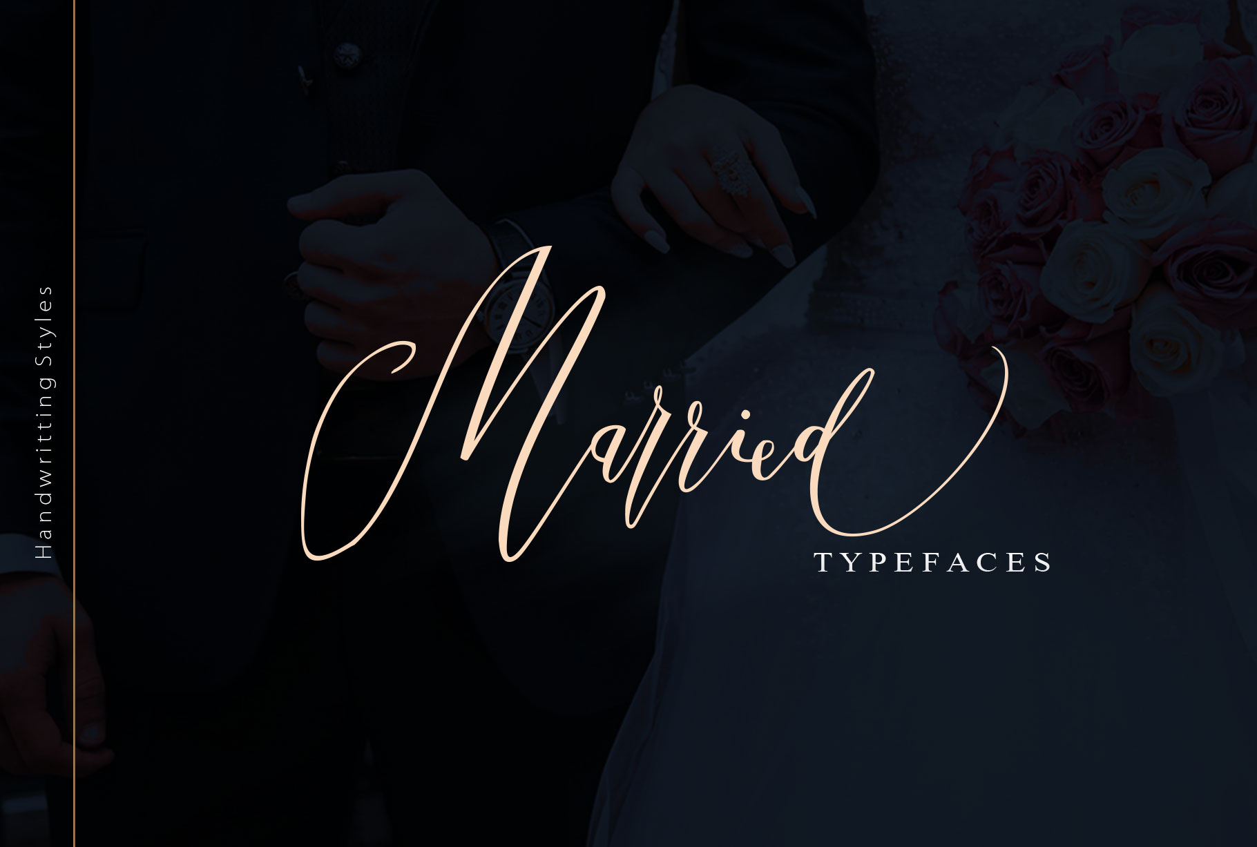 Married Typeface example image 1