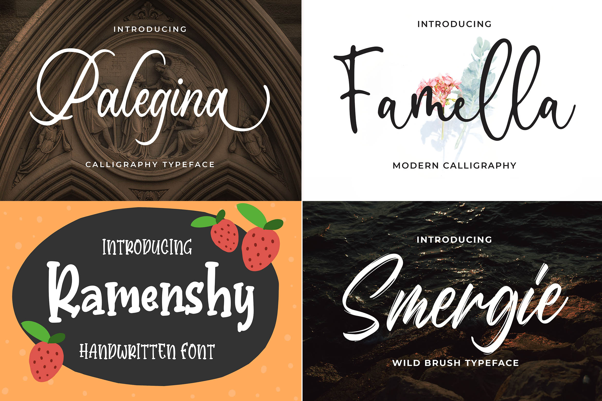 New Year Big Bundle - Crafting Fonts Collection example image 8