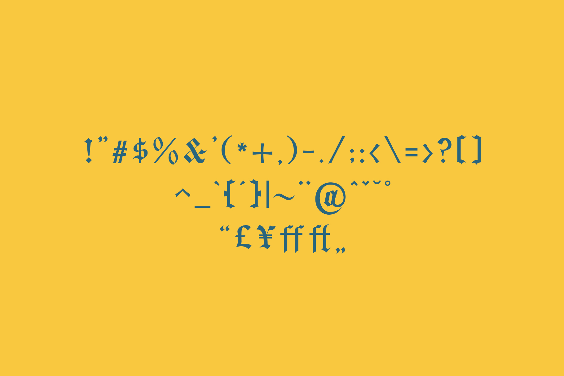 Bielefeld Typeface font example image 7