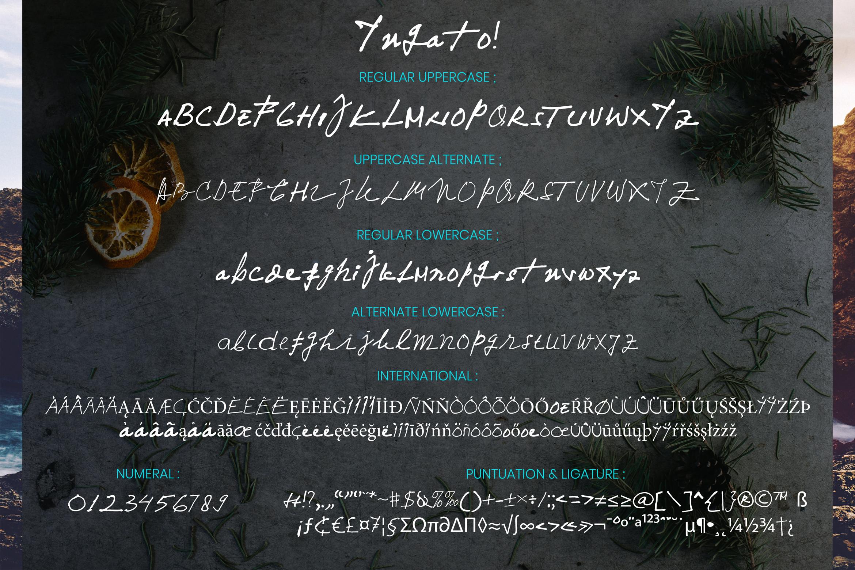Yuqato Handwriting Font example image 11
