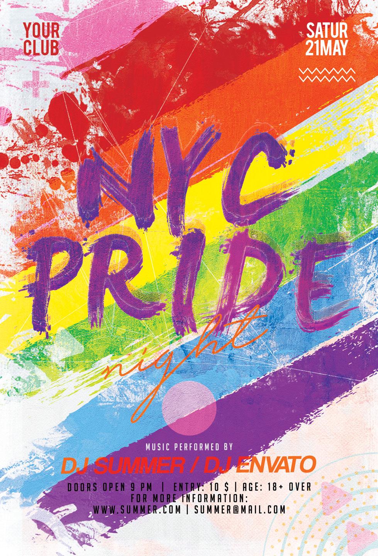 Pride Flyer example image 3