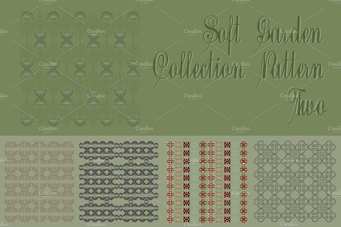 Soft Garden Collection Pattern Two example image 1