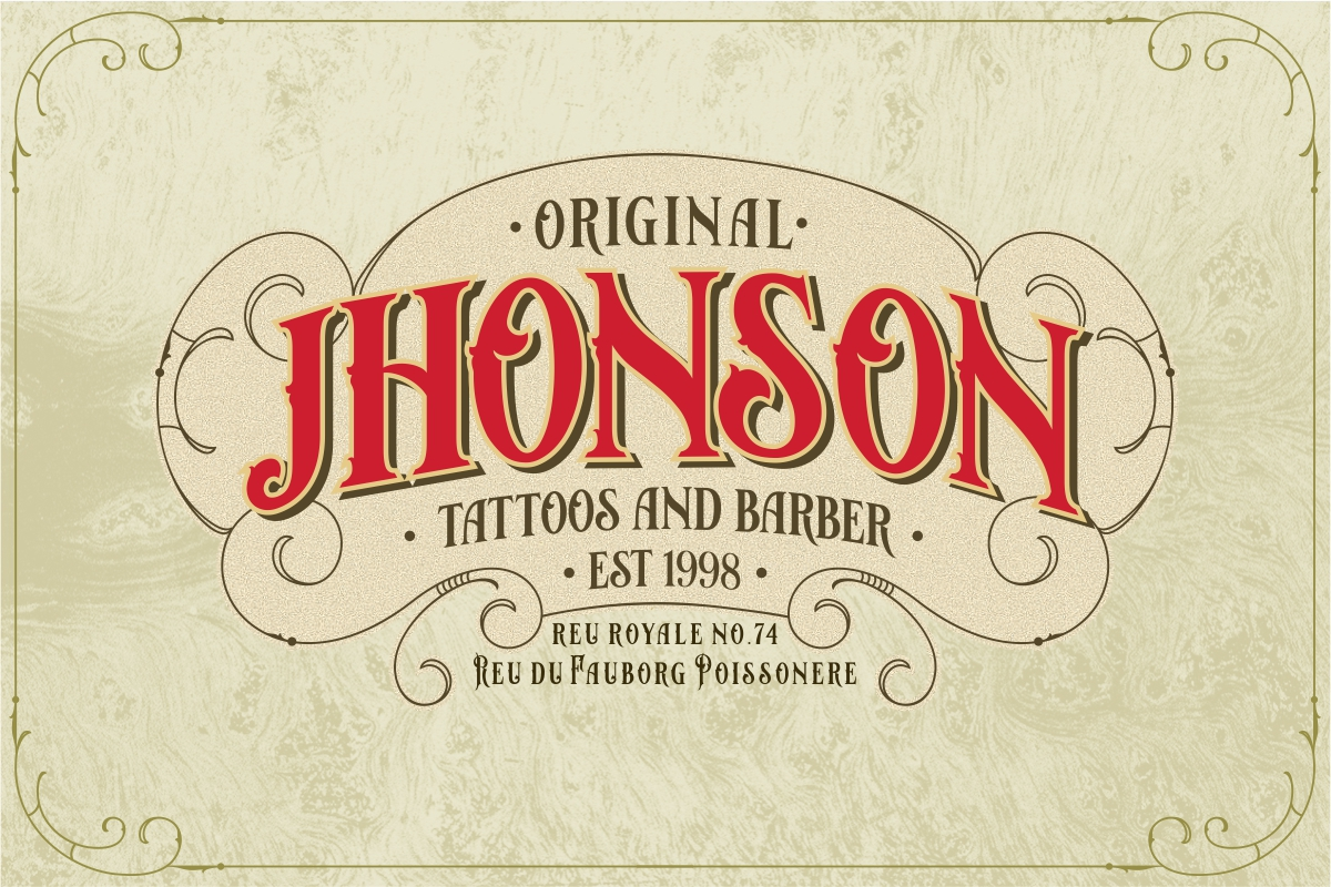 Bloves Vintage Typeface example image 4