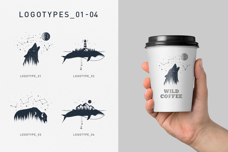 Double Exposure. 20 Creative Logos example image 6
