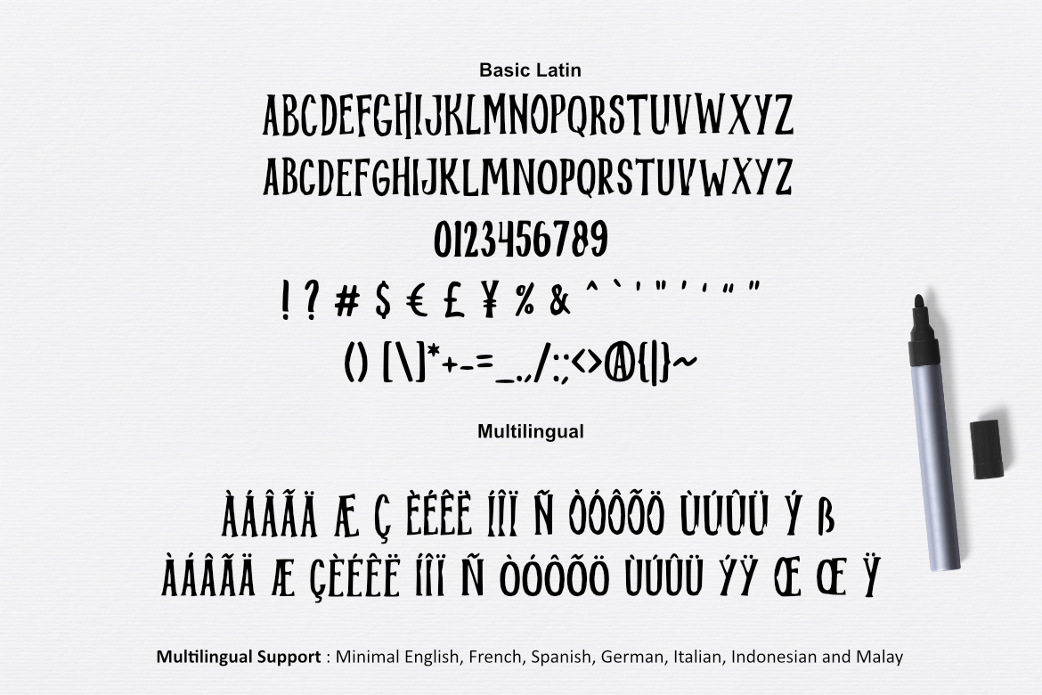 Midnight Font example image 2