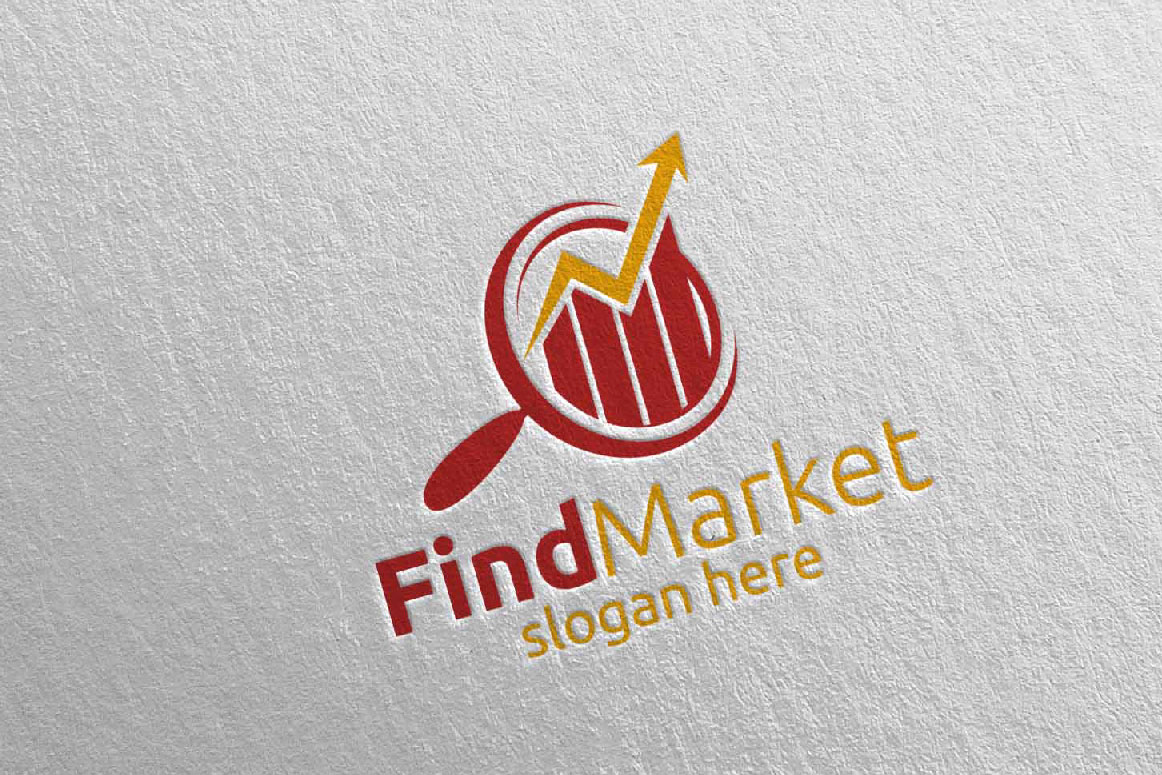 Find Marketing Financial Advisor Logo Design Template 14 example image 3
