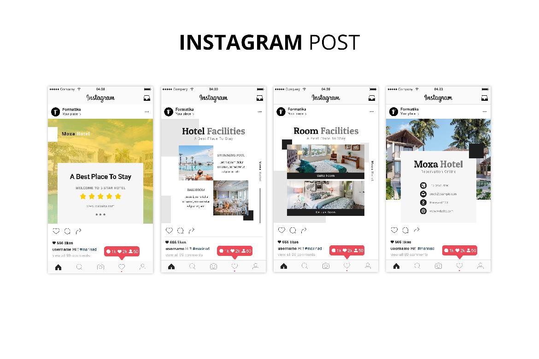 Moxa Hotel Social Media Kit example image 7