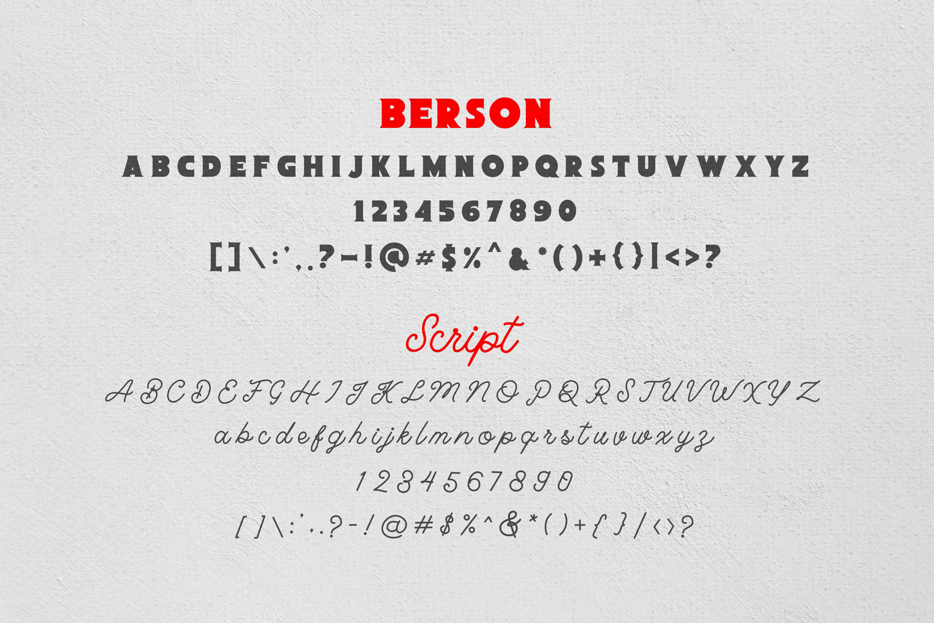 Berson Font Duo example image 6