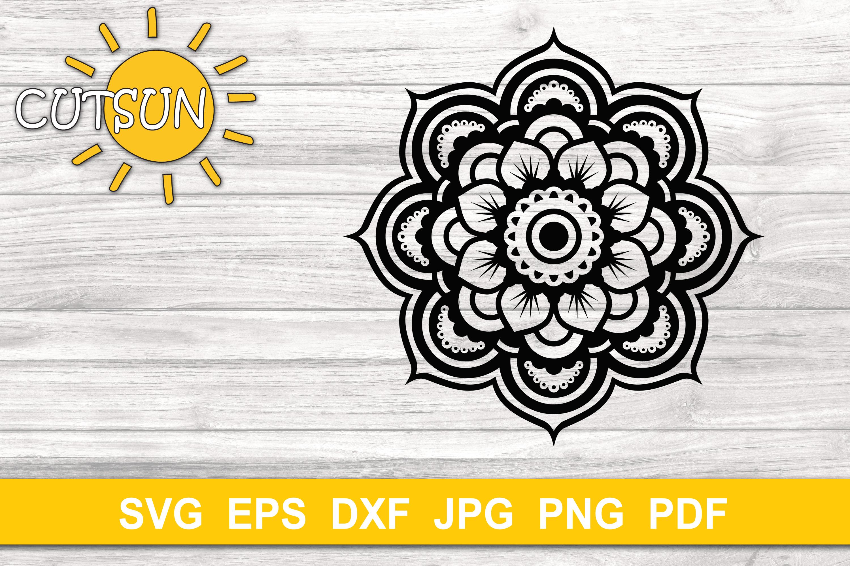 Download Mandala SVG   3D Layered Mandala SVG cut file