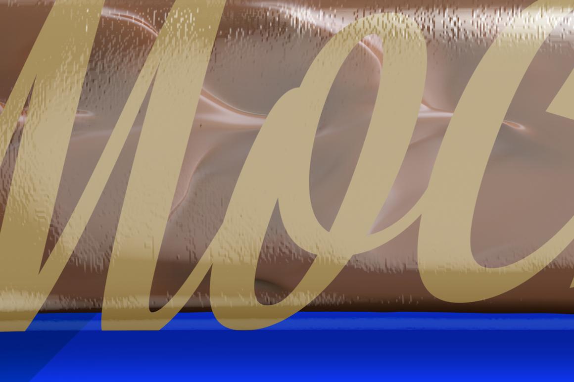 Transparent Glossy Snack Bar Mockup example image 4