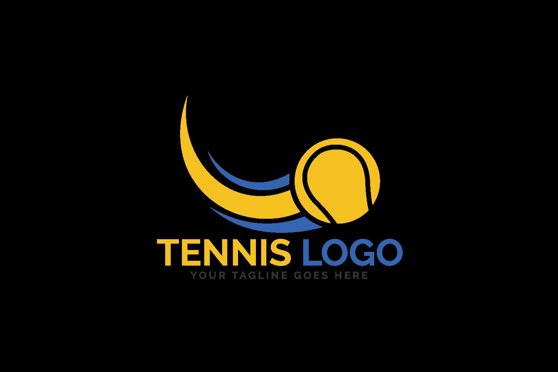 Tennis Sport Logo Design. example image 2