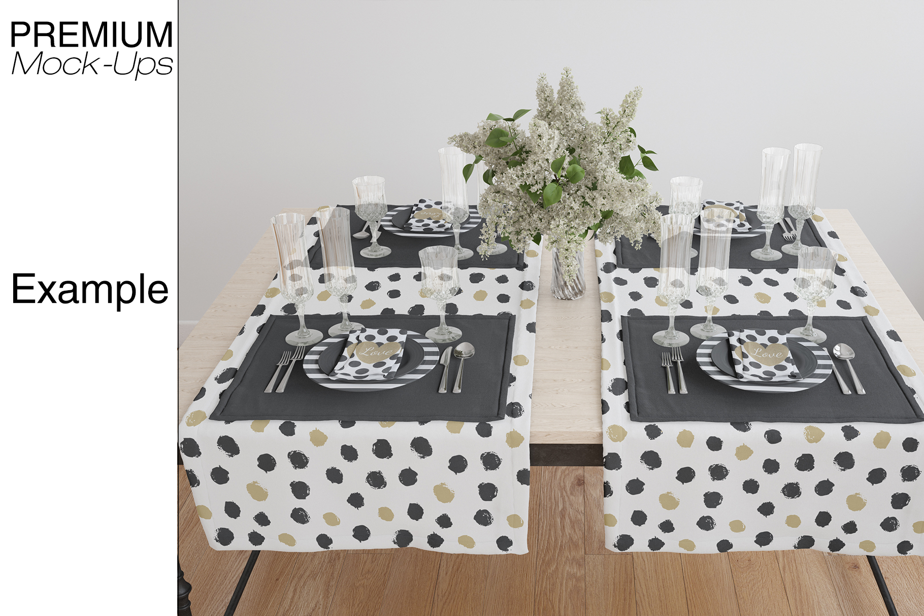 Tablecloth, Runner, Napkins & Plates example image 14