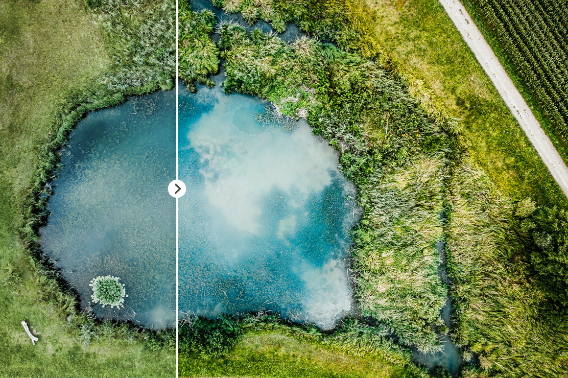 45 Lightroom Presets for Aerial Photography with Drones example image 17