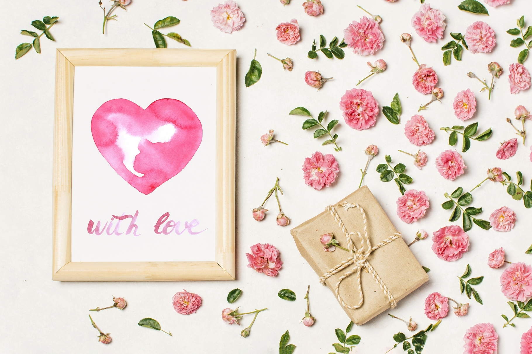 Watercolor Love collection example image 2