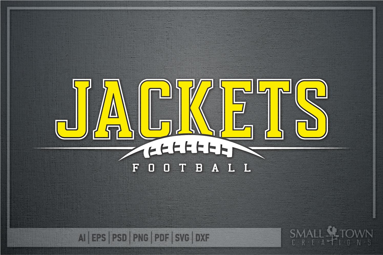 Jacket Football, Football Team, Sport, PRINT, CUT & DESIGN example image 5