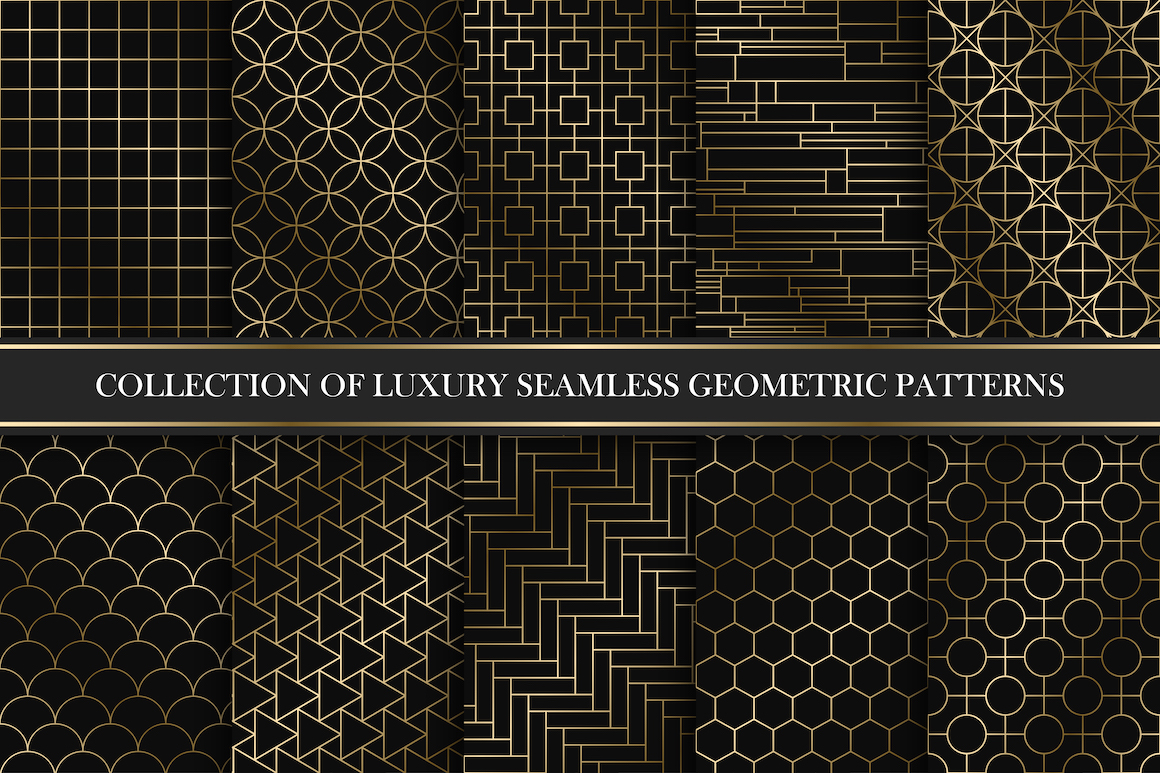 Rich endless ornamental patterns example image 1