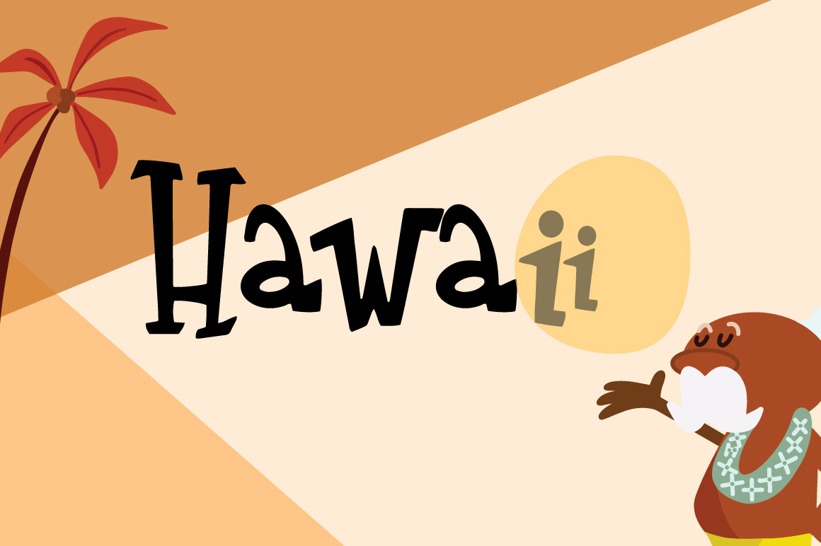 Tiki Time Font Collection example image 4