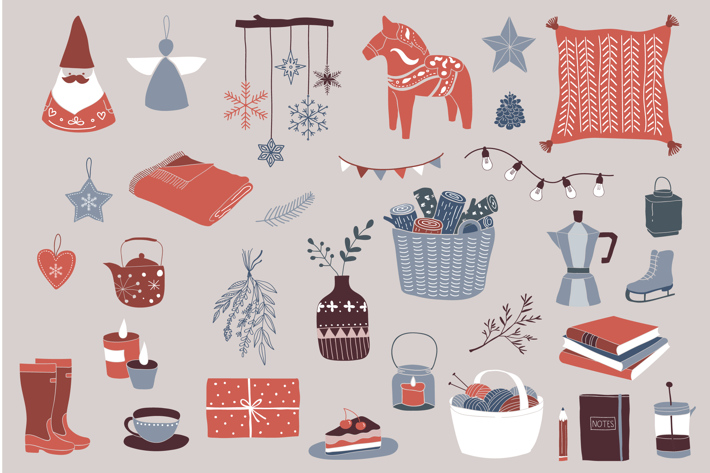 Nordic Christmas - winter collection example image 3