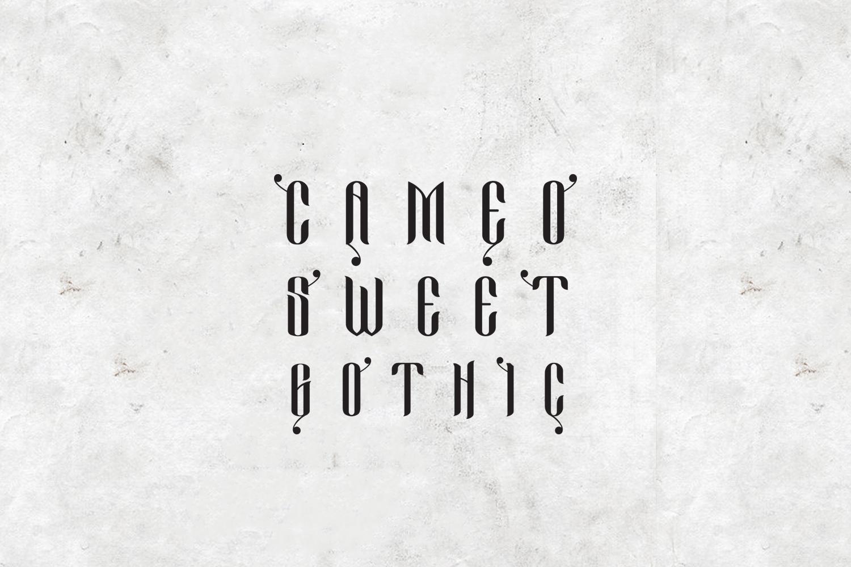 Cameo Sweet Gothic example image 3