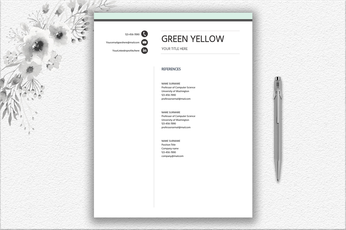 Resume Template Entry Level | Career Starter Pack example image 3