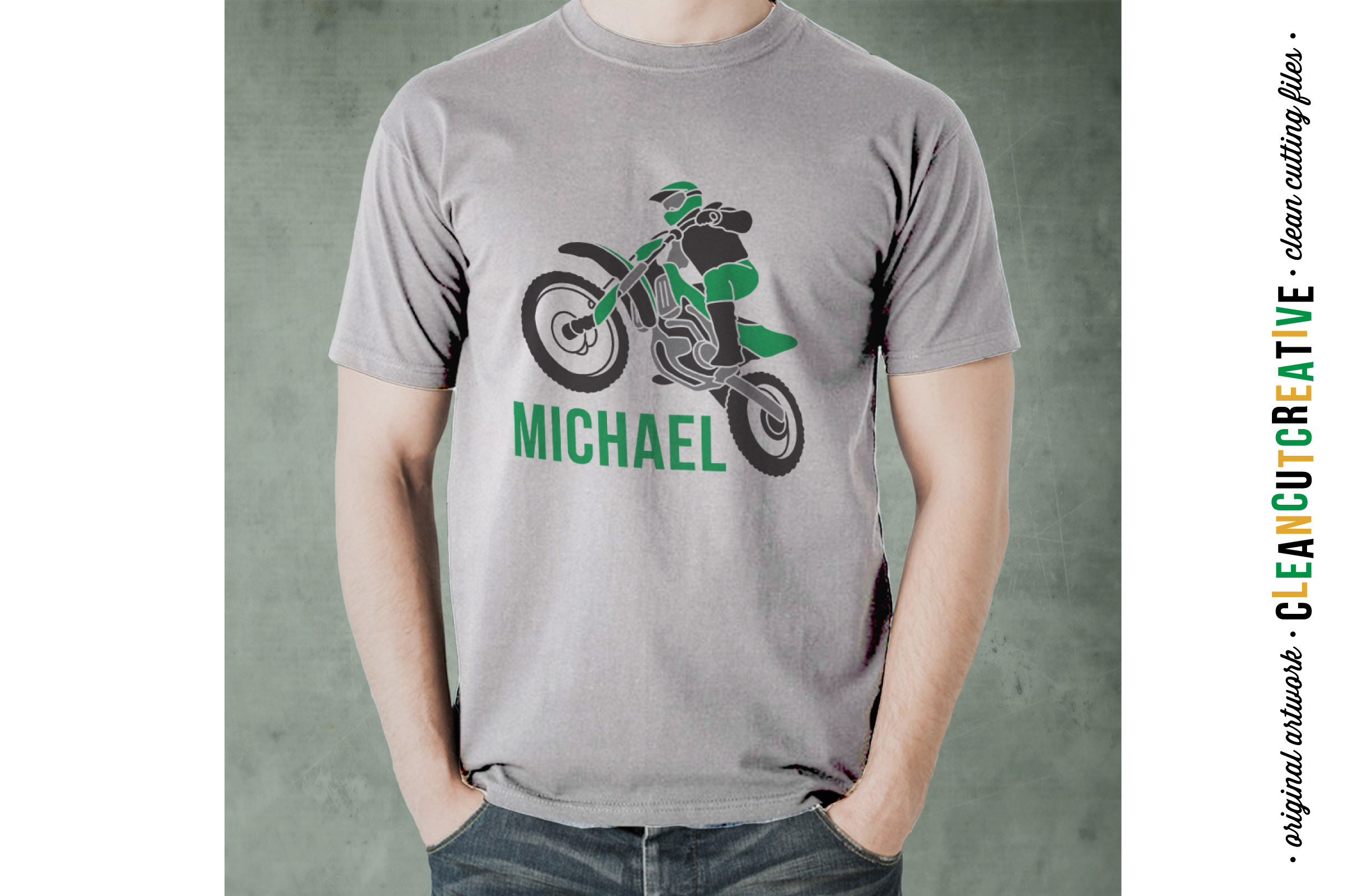Young Wild and BRAAAP! Girls design for Motocross Dirt Bike Lovers! - SVG DXF EPSPNG - Cricut & Silhouette example image 3