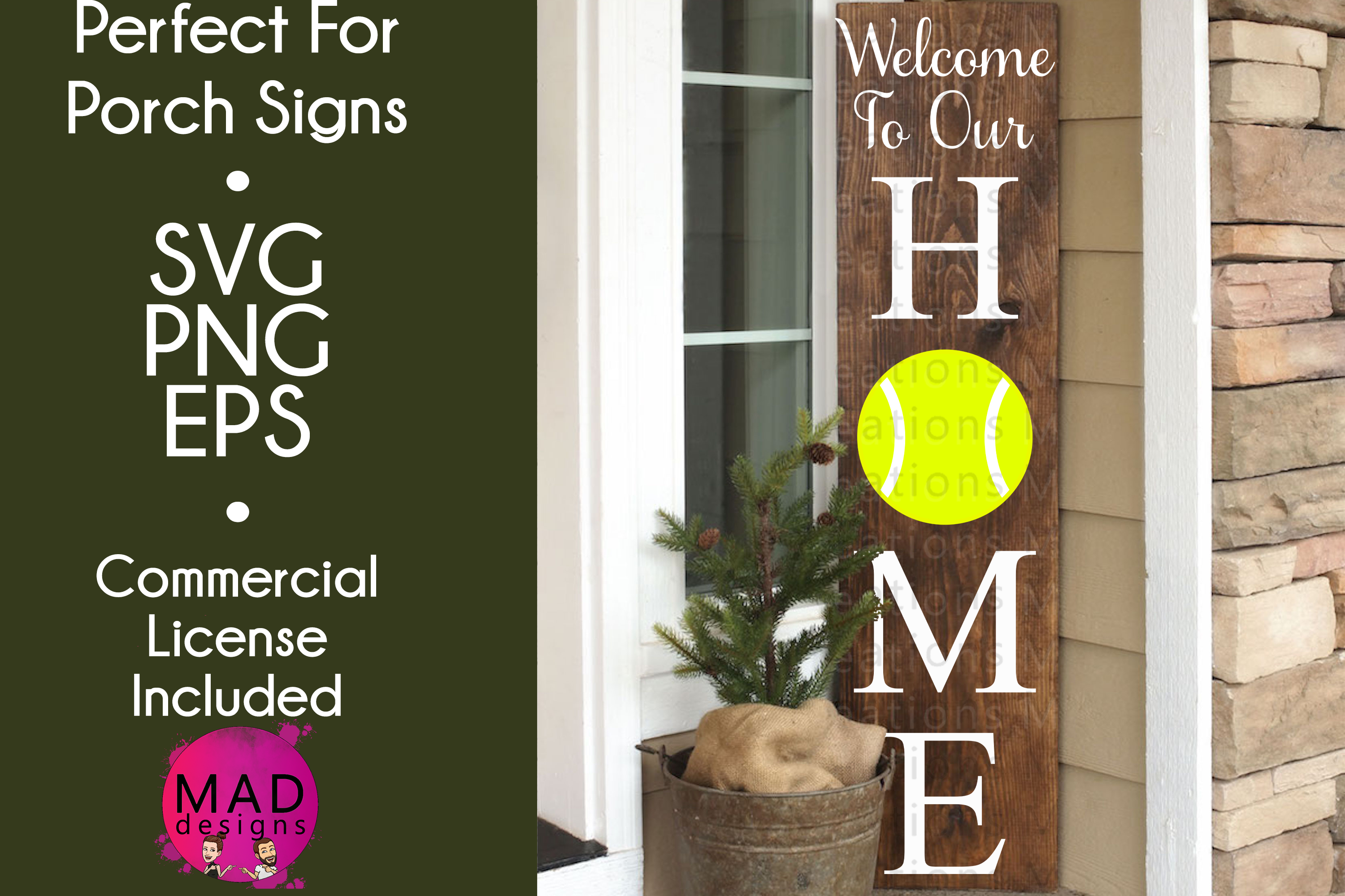 Welcome to Our Home - Tennis example image 1
