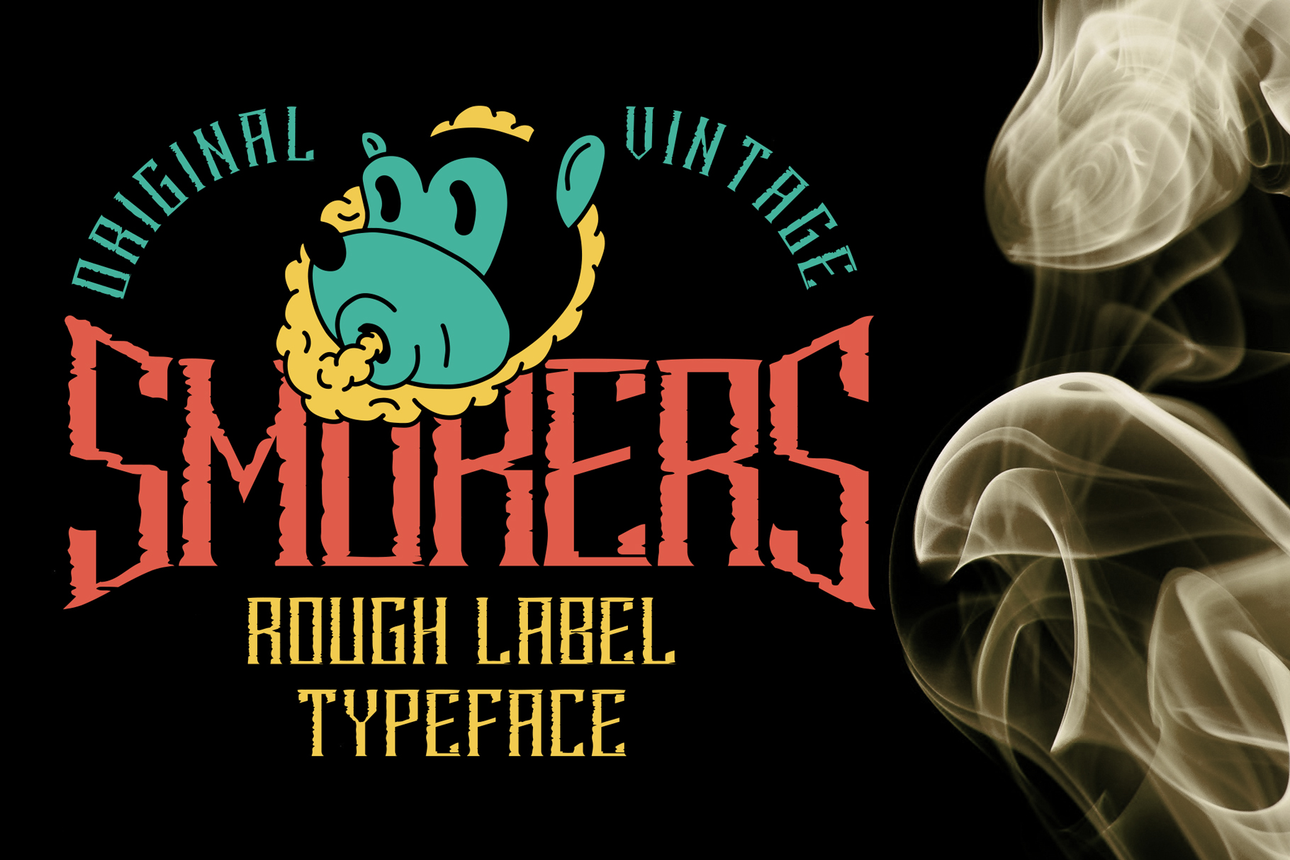 Smokers typeface example image 5