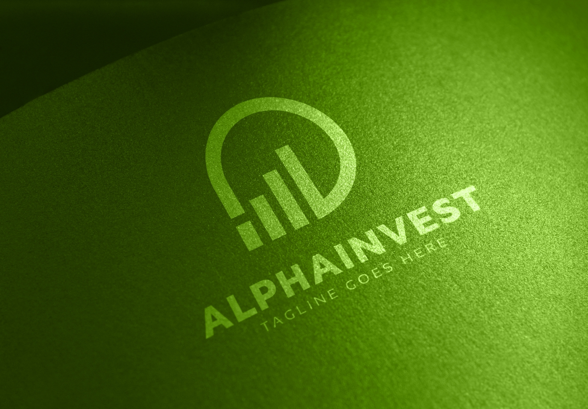 Alpha Invest Logo example image 3