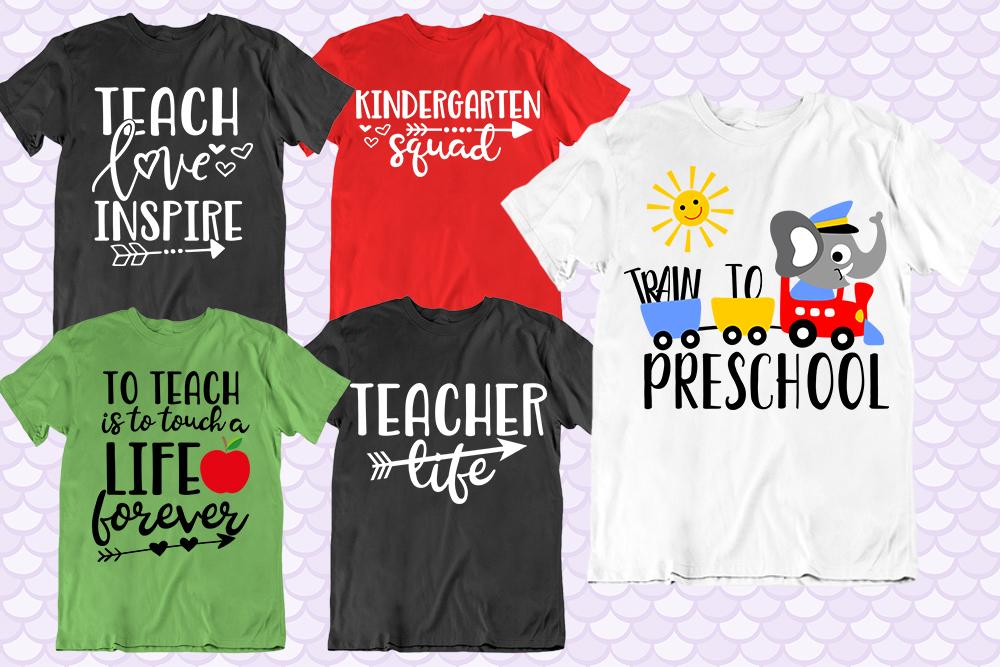 School Teachers SVG bundle - clipart, vector, printable example image 4