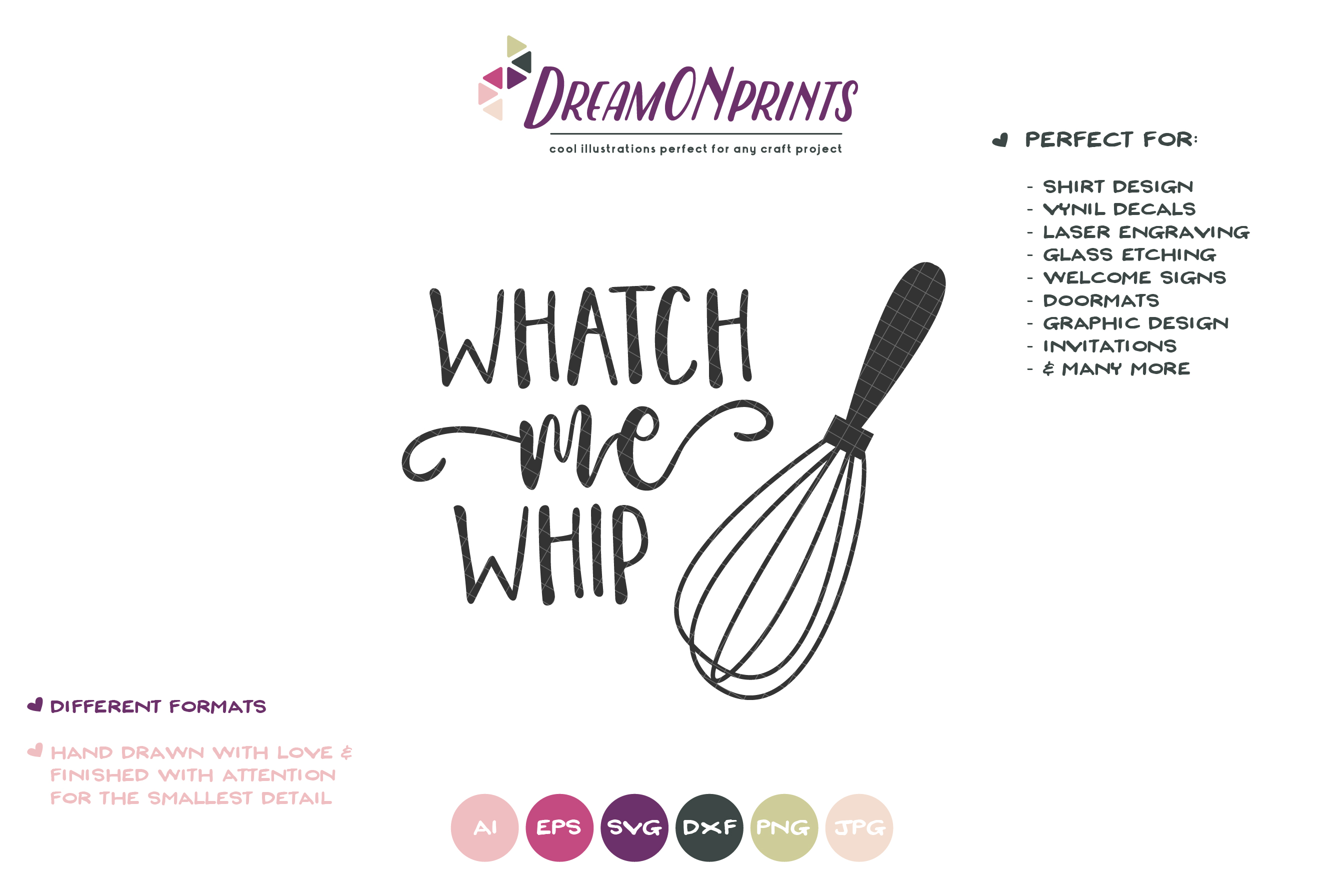 Watch Me Whip SVG - Kitchen SVG example image 2